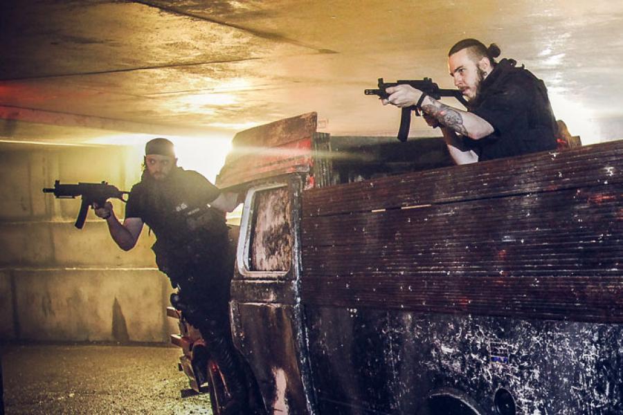 Zombie Swat Trainees