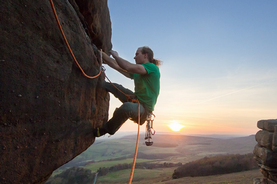 Intermediate Outdoor Rock Climbing Course image