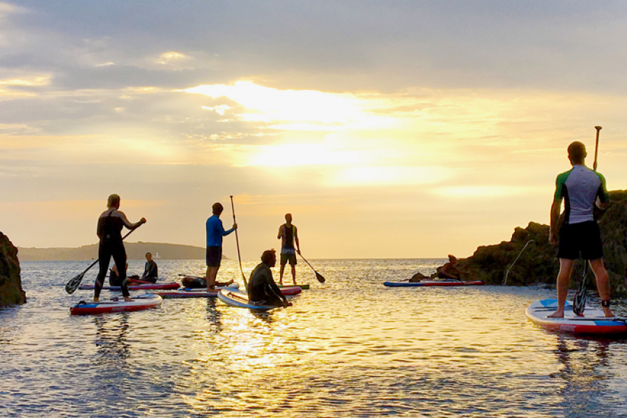 SUP Experience Gylly Bay Tour image