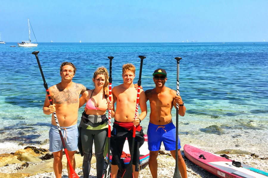 The Secret Beach SUP Experience image