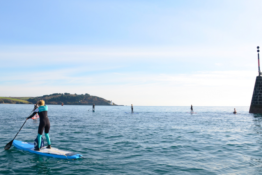 The Lighthouse Stand Up Paddleboarding (SUP) Adventure image