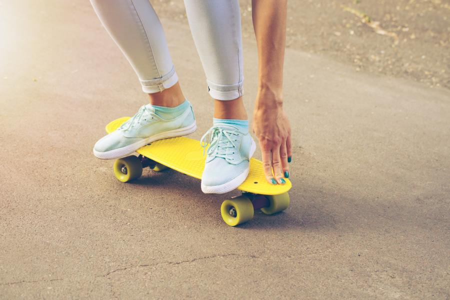 Penny Skateboard Lesson image