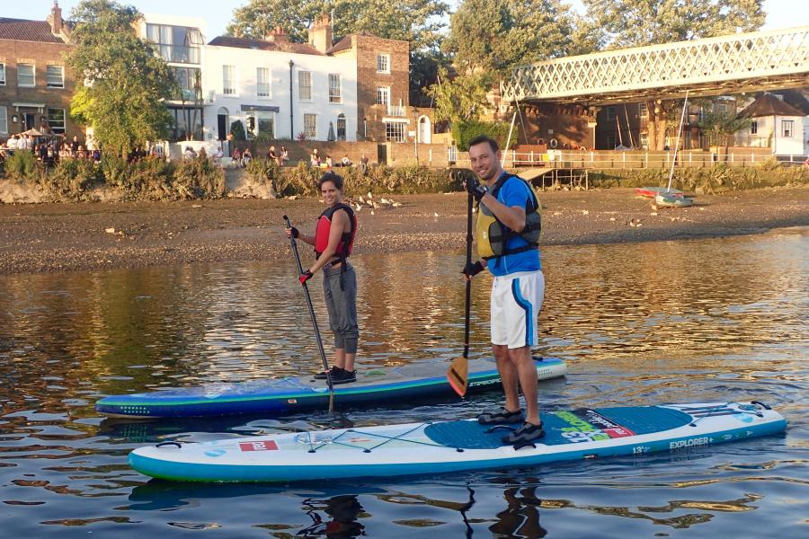 Solo or Team Stand Up Paddleboard London image