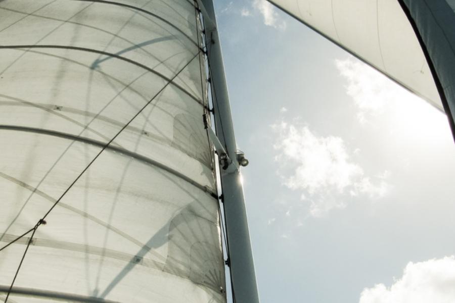 Luxury Yacht Sailing image
