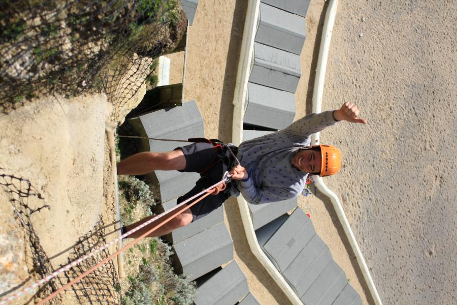 Cliff Abseil image