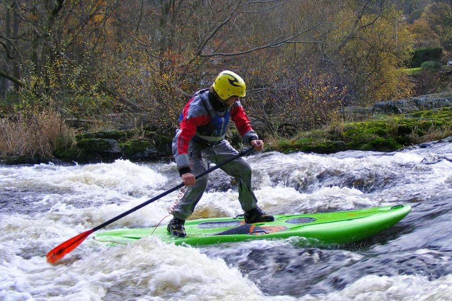 White Water Stand Up PaddleBoarding (SUP) Experience image