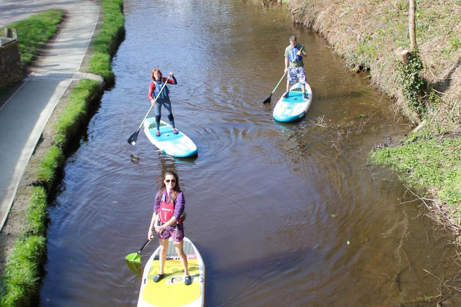 Flat Water Stand Up Paddleboarding Experience image