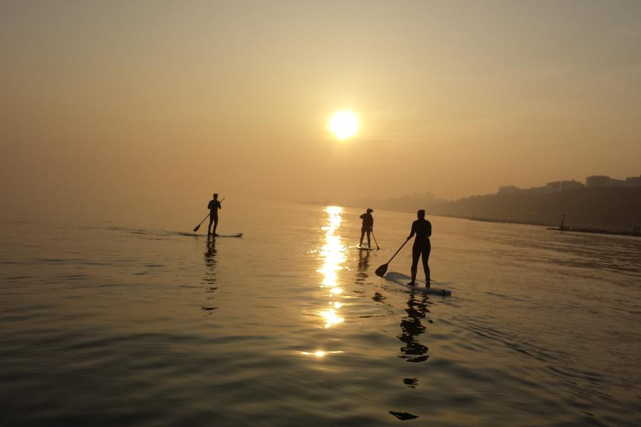 Surfing Or SUP Experience Bournemouth image