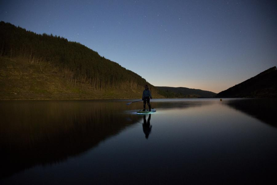 Overnight Stand Up Paddleboarding Adventure image