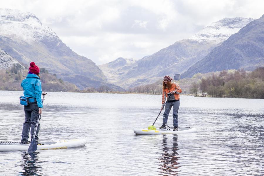 Stand Up Paddleboard & Hike image