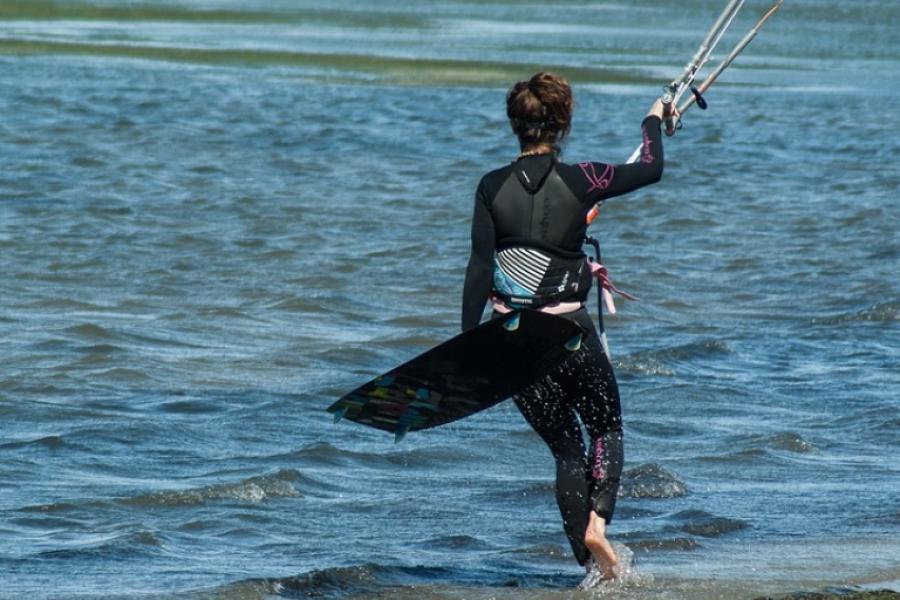 Kitesurfing Lesson Dorset image