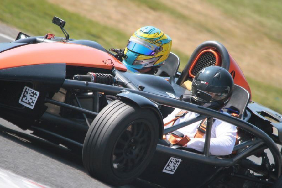 Supercharged Ariel Atom Driving Experience image