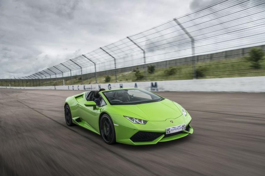 Lamborghini Huracan Blast Experience image