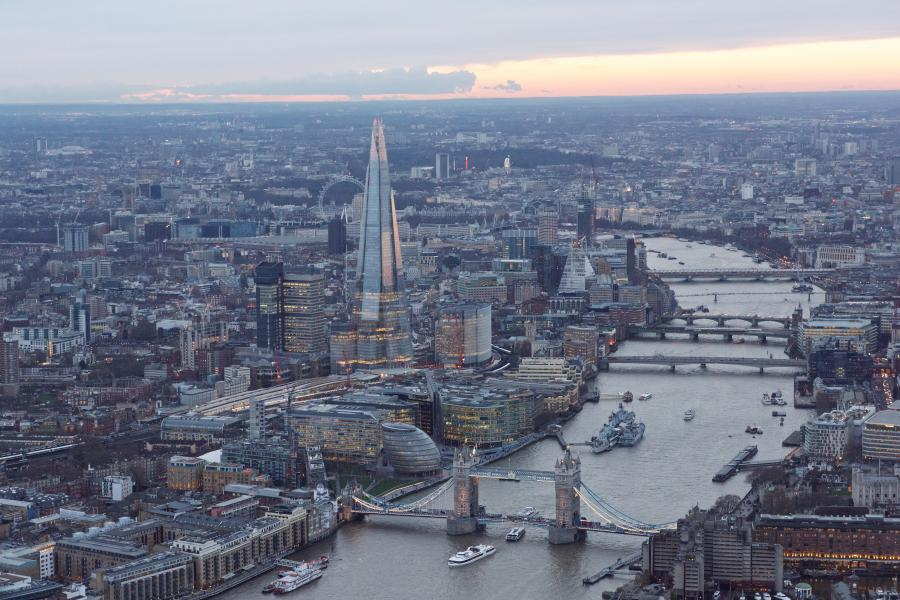 London Helicopter private tour image