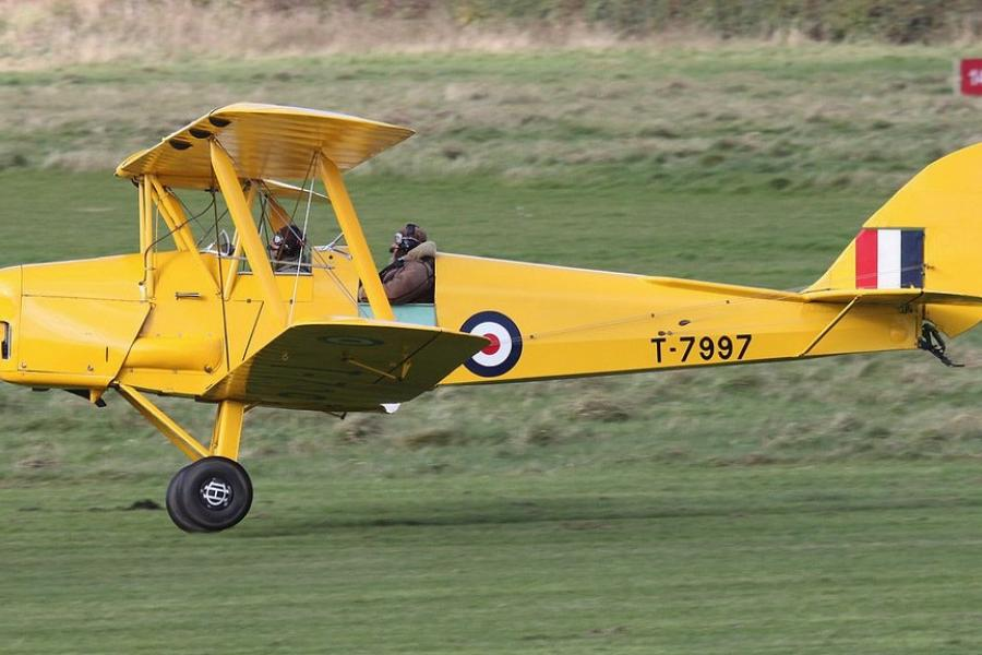 Tiger Moth Biplane Flights Devon image