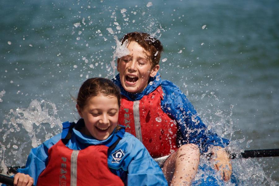 Kayaking Dorset image