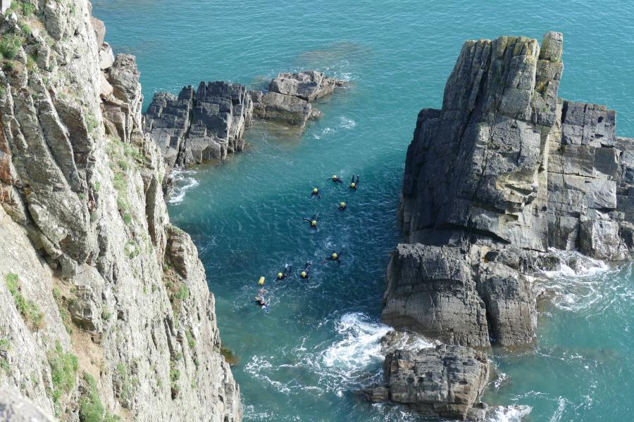 Coasteering Pembrokeshire image