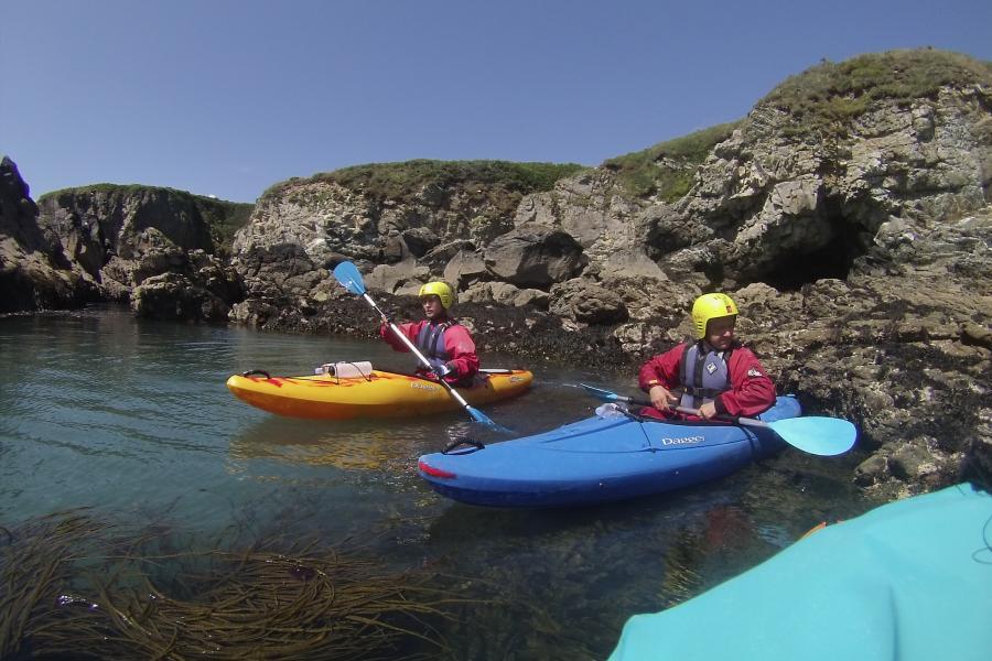Kayaking Pembrokeshire image