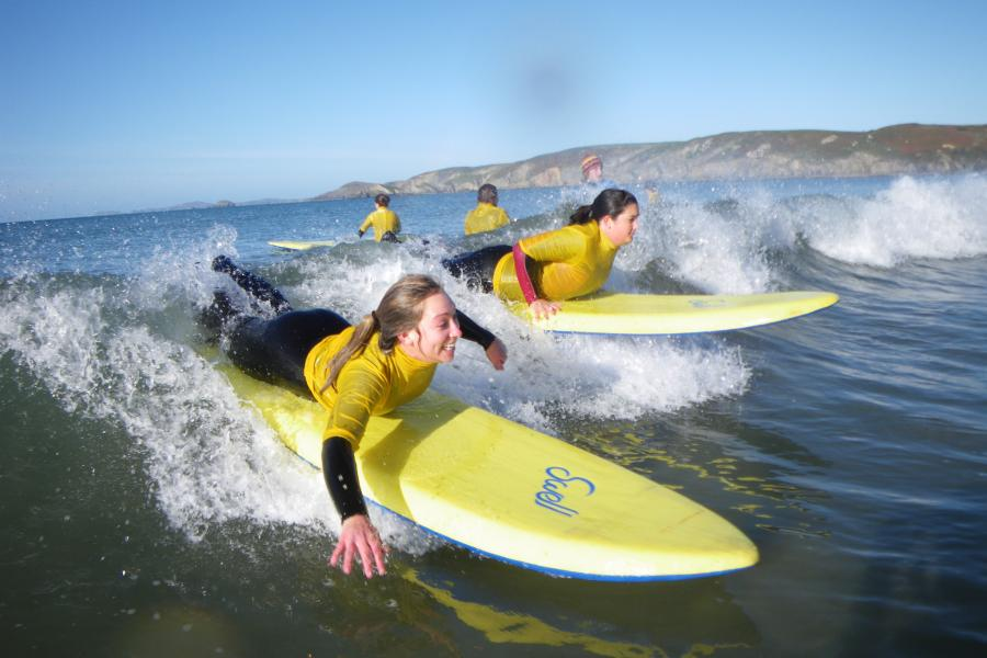 Surfing Lessons Pembrokeshire image