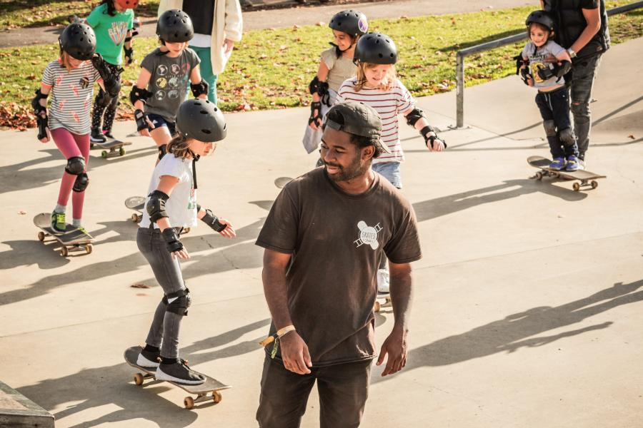 Skateboarding Birthday Parties image