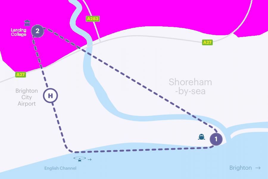 Brighton Helicopter Ride (Buzz) image