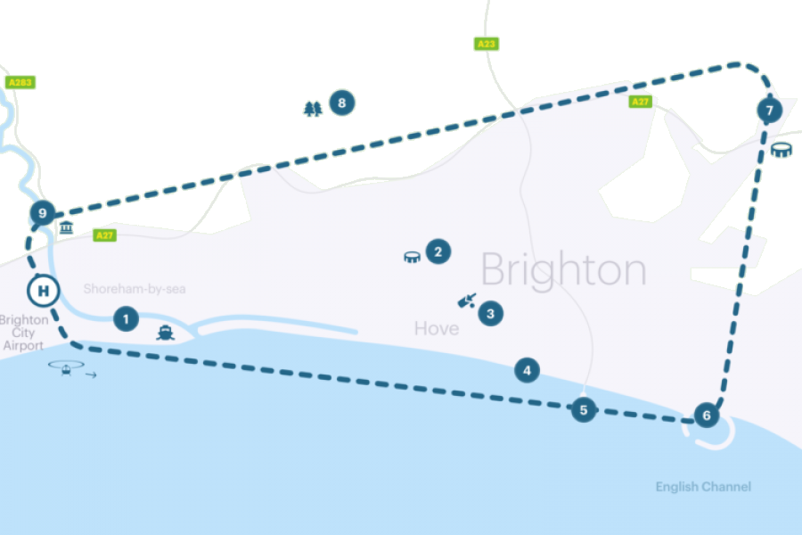 Brighton Helicopter Ride (Sights) image