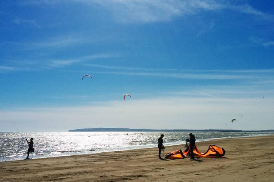 Kite Landboard Lesson image