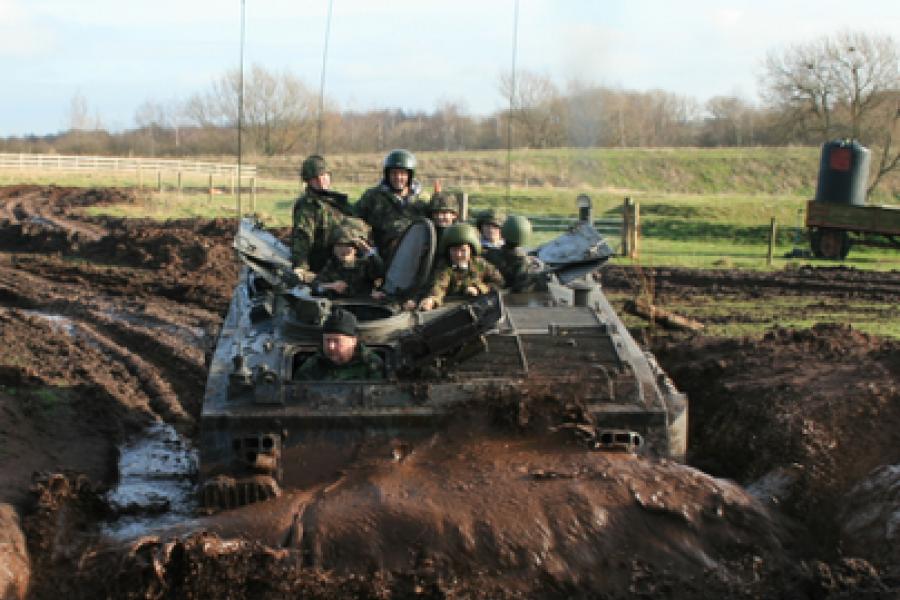 Tank Driving image