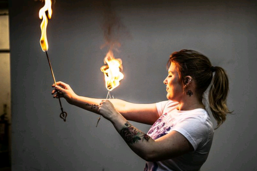 Ultimate Fire Eating Lesson for 2 image