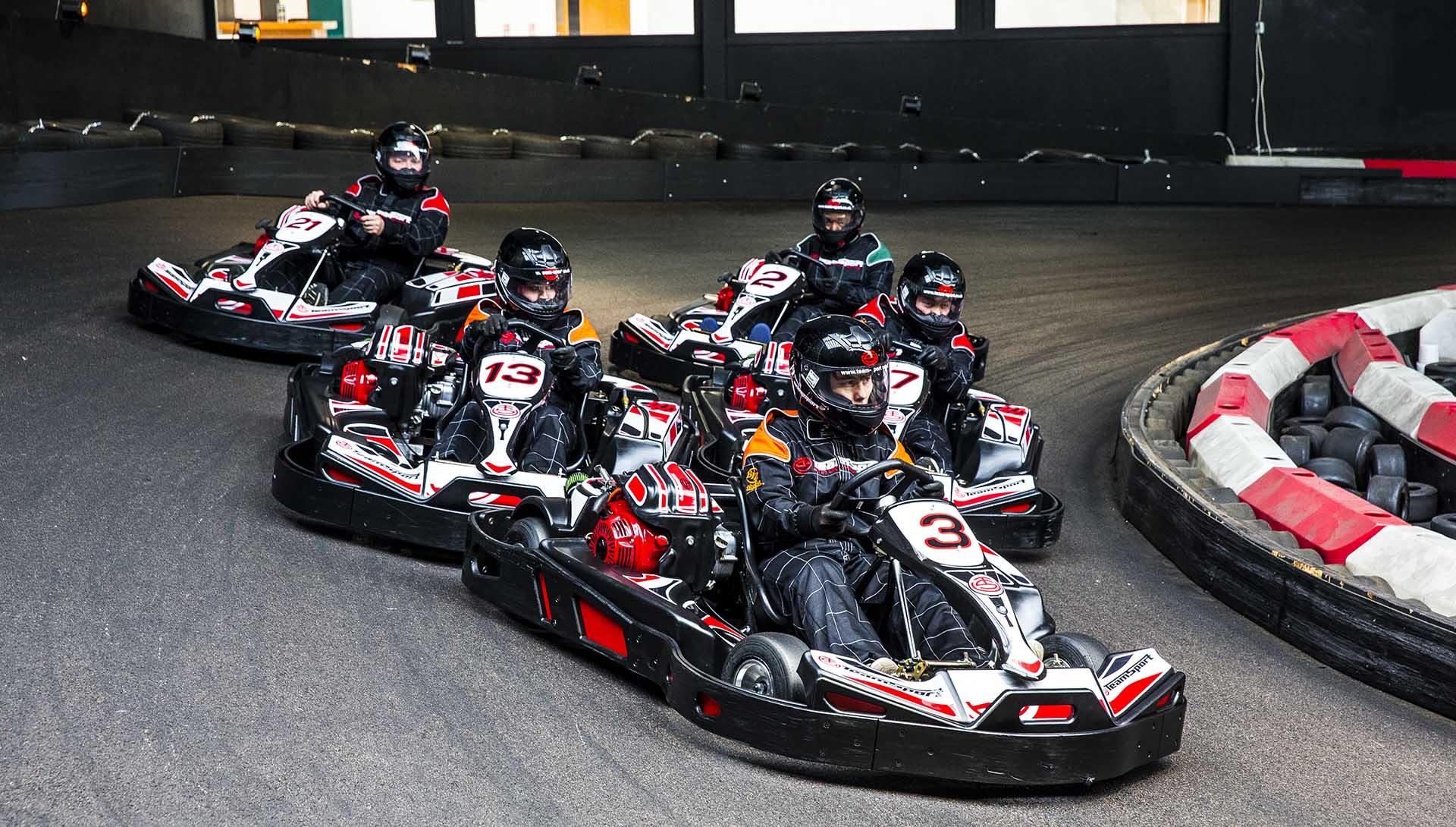 Go Karting 50 Lap Race